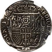 ½ filippo Carlo III – revers
