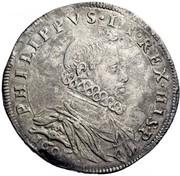 100 soldi - Filippo III – avers