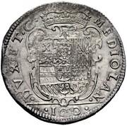 100 soldi - Filippo III – revers