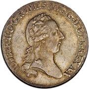 1 scudo - Joseph II -  avers