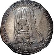 1 filippo - Carlo II – avers