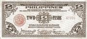 2 Pesos (Mindanao) – avers