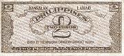 2 Pesos (Mindanao) – revers