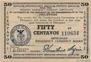 50 Centavos (Mindanao) – avers