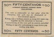 50 Centavos (Mindanao) – revers