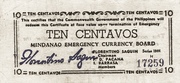 10 Centavos (Mindanao) – avers
