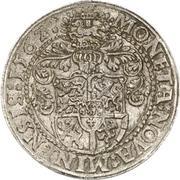 1 Thaler - Georg von Braunschweig-Wolfenbüttel – revers