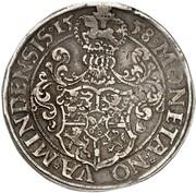 1 thaler Georg de Braunschweig-Wolfenbüttel – revers