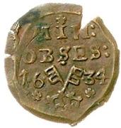 1 Mariengroschen (Siege coinage) – avers