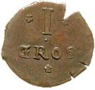 1 Mariengroschen (Siege coinage) – revers