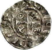 1 Pfennig - Konrad II. – avers