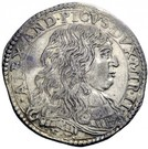 1 lira - Alessandro II – avers