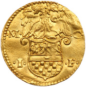 1 Ducato - Gianfrancesco II – revers