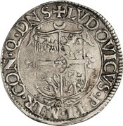 1 giulio - Ludovico II – avers