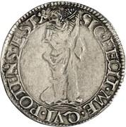 1 giulio - Ludovico II – revers