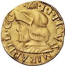 2 ducati - Gianfrancesco II – avers