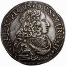 1 ducatone - Alessandro II – avers