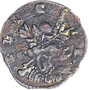 1 sesino - Ludovico II – revers