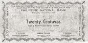 20 Centavos (Misamis Occidental) – avers