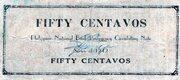 50 Centavos (Misamis Occidental) – revers