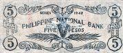 5 Pesos (Misamis Occidental) – revers