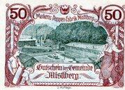 50 Heller (Mistlberg) -  avers