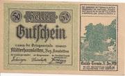 50 Heller (Mitterhausleiten) – avers
