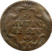 1 Sesino - Louis XIV – revers