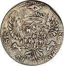 ½ lira Francesco I – revers