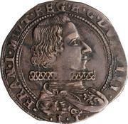 1 lira Francesco I – avers