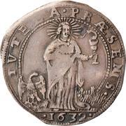 1 lira Francesco I – revers