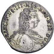 1 lira - Francesco III d'Este – avers