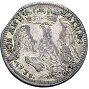 1 lira - Francesco III d'Este – revers