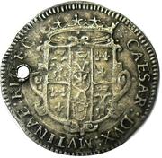 6 Bolognini - Cesare d Este – avers