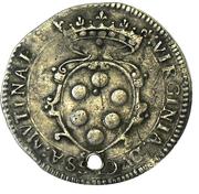 6 Bolognini - Cesare d Este – revers