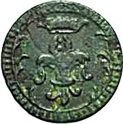 4 denier Hercule III d'Este – avers