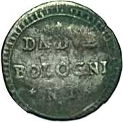 2 bolognini Hercule III d'Este – revers