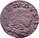 1 sesino Alfonso IV d´Este – avers