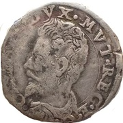 1 Giorgino - Cesare d'Este (1597-1628) – avers