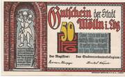 50 Pfennig (Mölln) – avers