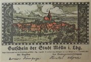 50 Pfennig Mölln – avers