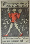50 Pfennig Mölln – revers