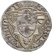 1 Weißpfennig - Friedrich III. – revers