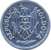 5 bani – avers