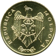 50 bani -  avers