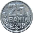 25 bani – revers