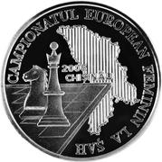 10 Lei (Championnat d'Europe féminin d'échecs) – revers
