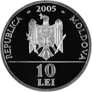 10 Lei (Aigle impérial) – avers