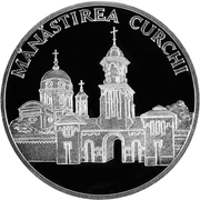 50 Lei - Monastery Curchi – revers