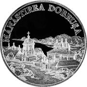 50 Lei - Monastery Dobruşa – revers